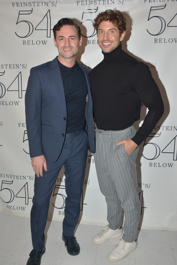Max Von Essen and Nick Adams Photo