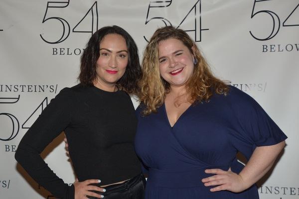 Eden Espinosa and Bonnie Milligan