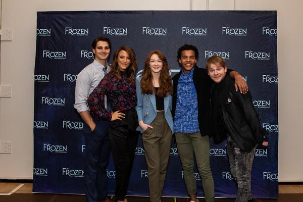Austin Colby, Caroline Bowman, Caroline Innerbichler, Mason Reeves and F. Michael Haynie