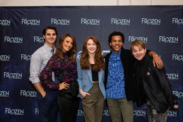 Austin Colby, Caroline Bowman, Caroline Innerbichler, Mason Reeves and F. Michael Hay Photo