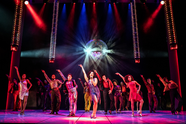 Alex Hairston (Disco Donna) and the Company of SUMMER Photo