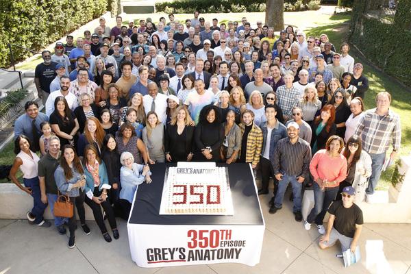 Photo Flash: ABC's GREY'S ANATOMY Celebrates 350 Episodes