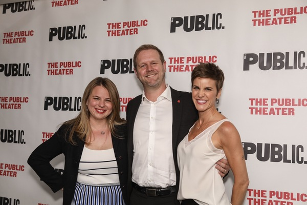 Irene Sankoff, David Hein, and Jenn Colella Photo