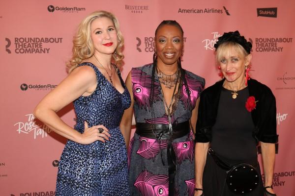 Cassie Beck, Portia and Constance Shulman Photo