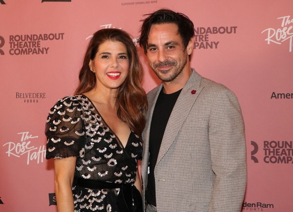 Marisa Tomei and Emun Elliott