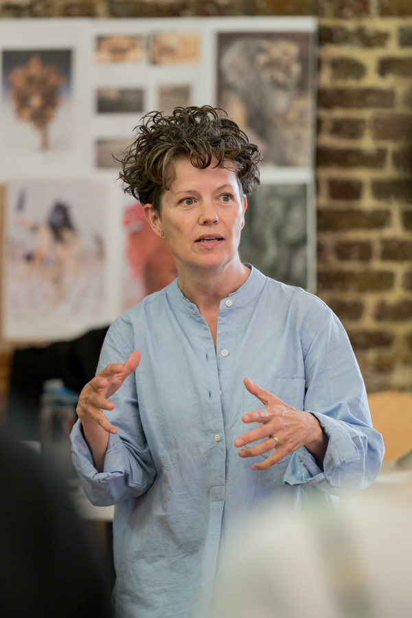 Photo Flash: Inside Rehearsal For THE LION, THE WITCH, AND THE WARDROBE at the Bridge Theatre