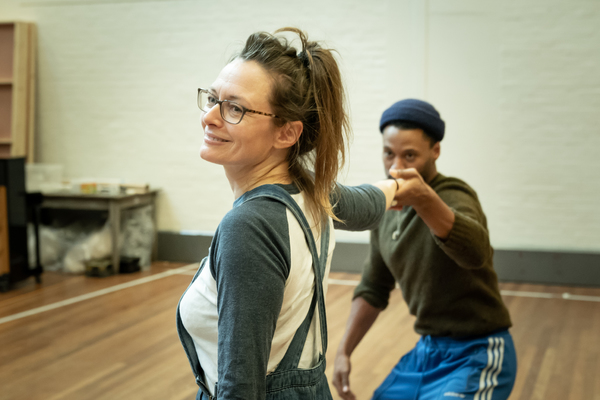 Photo Flash: Inside Rehearsal For MY BRILLIANT FRIEND at the National Theatre