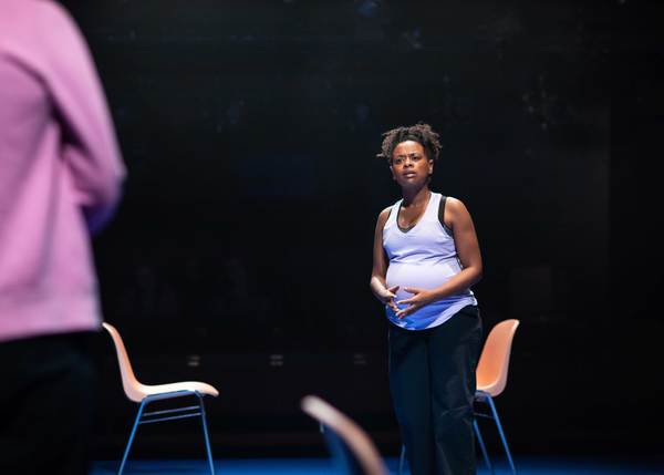 Photo Flash: First Look at [BLANK] at the Donmar Warehouse