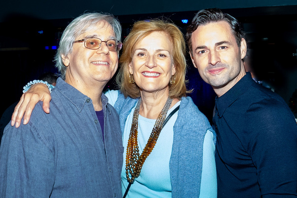 Paul Rolnick, Karen Mason, Max von Essen Photo