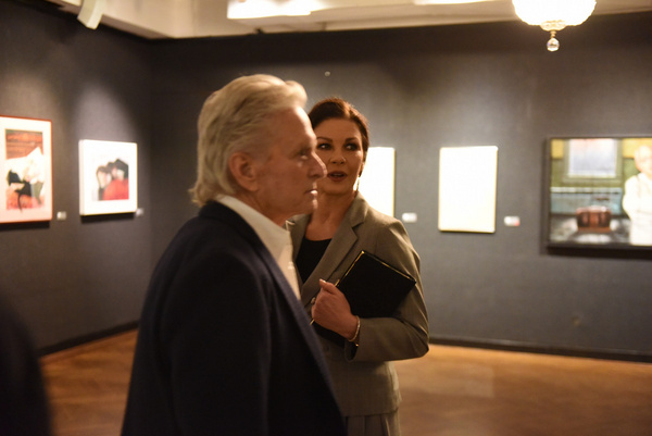 Michael Douglas and Catherine Zeta-Jones attend Joseph Feury''s Fioretti: Through the Photo