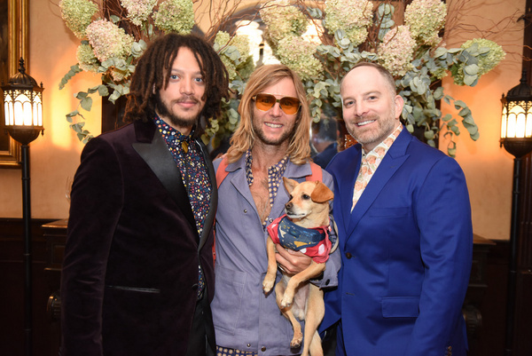 Taylor A. Purdee, Greg Cipes, and David Bruson attend Joseph Feury''s Fioretti: Throu Photo