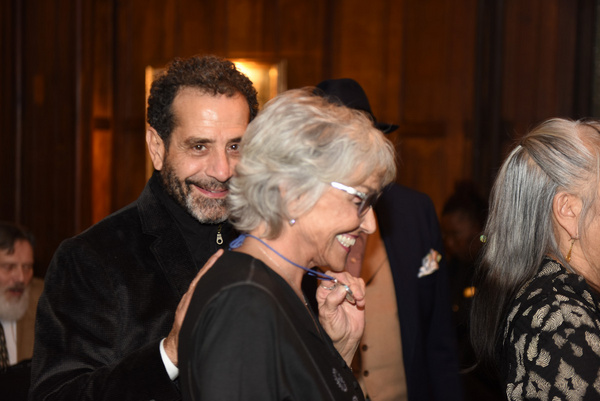 Tony Shalhoub and Brooke Adams attend Joseph Feury''s Fioretti: Through the Window ex Photo