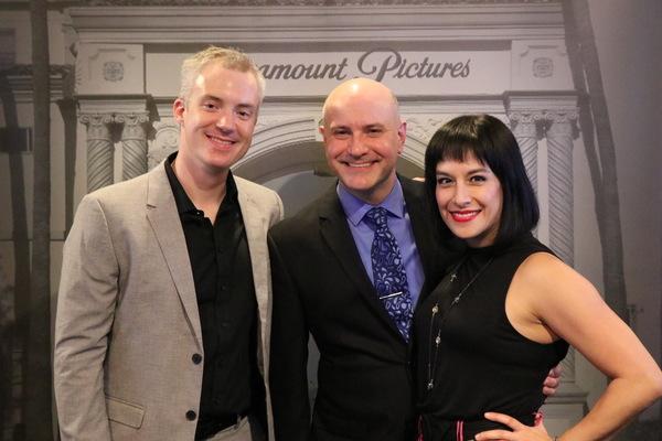 Music Director Aaron Benham, Director Michael Weber and Choreographer Shanna Vanderwe Photo