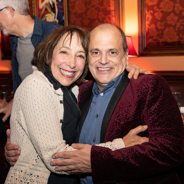 Didi Conn and John Minnock at Feinstein''s/54 Below on September 20, 2019    Photo by Leslie Farinacci
