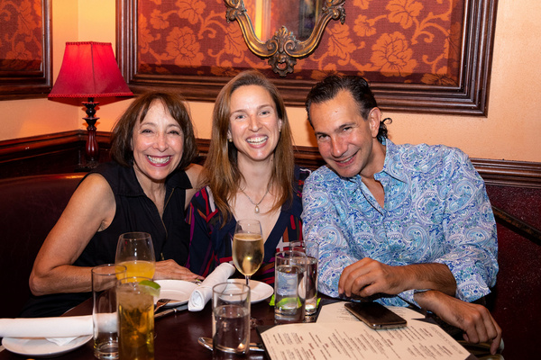 Didi Conn, Catherine Sikora and Enrique Haneine at Feinstein''s/54 Below on September 20, 2019    Photo by Leslie Farinacci