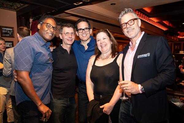 Dexter Sealy, Erick Holmberg, David Murray, Candida Fink and Stephen Carpenter at Fei Photo