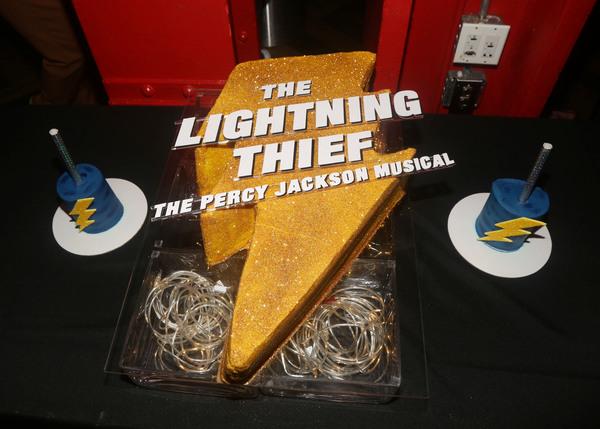 Photo Coverage: THE LIGHTNING THIEF Celebrates Opening Night on Broadway!
