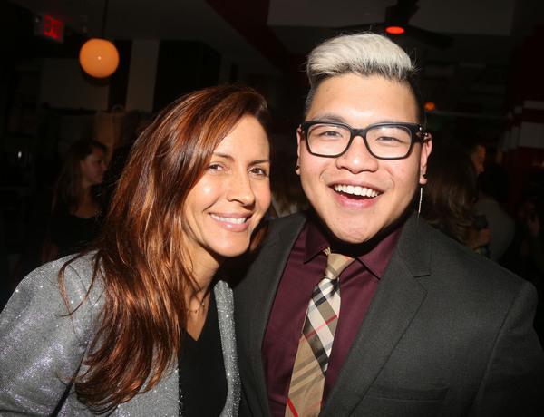 Michelle Clunie and Jorrel Javier