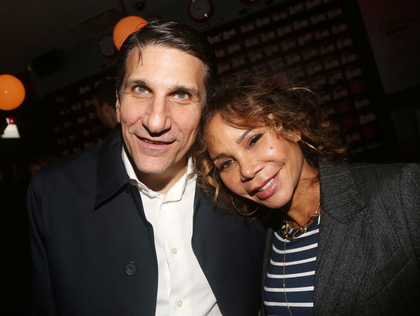 Tommy Costanzo and wife Daphne Rubin-Vega