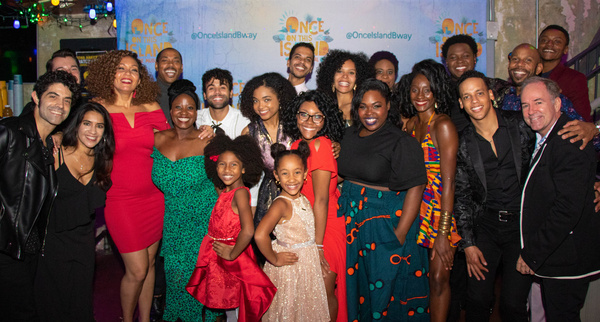 Photo Flash: ONCE ON THIS ISLAND Tour Cast and Creatives Celebrate Opening Night