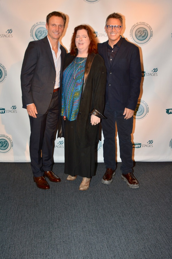 Tony Goldwyn, Theresa Rebecca and Tim Daly Photo