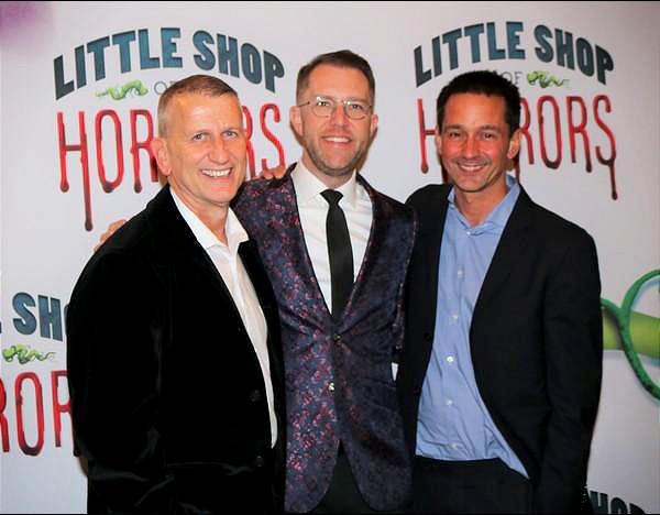 Tom Kirdahy, Hunter Arnold and Robert Ahrens Photo