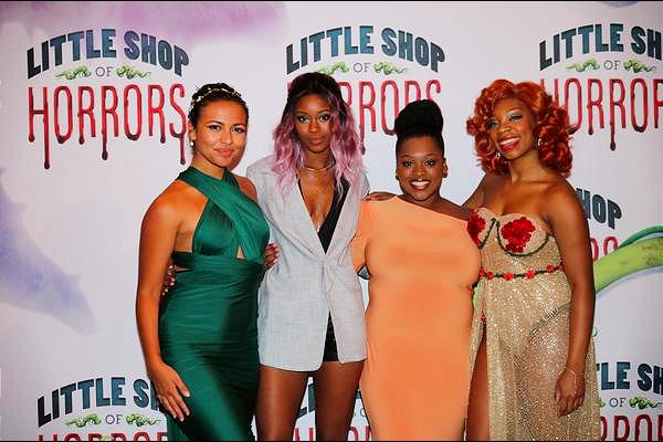 Ellenore Scott, Joy Woods, Salome Smith and Ari Groover