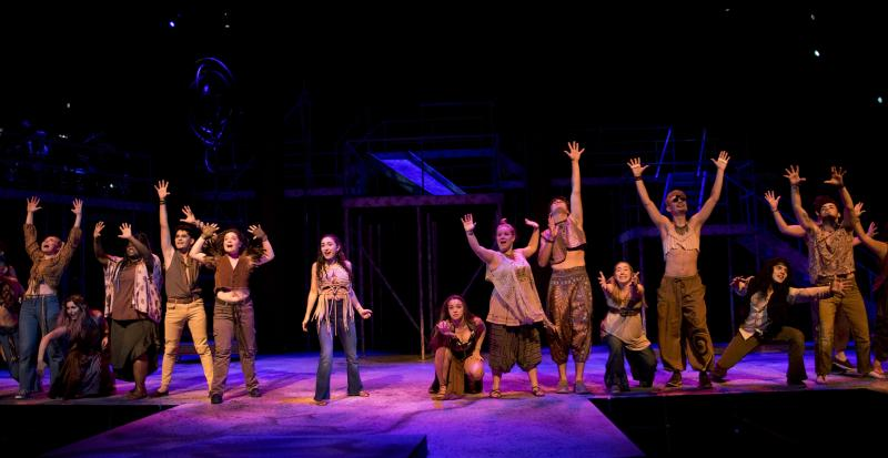 BWW Review: Peace, Love, and the Sun Shines in Theatre UAB's HAIR: THE AMERICAN TRIBAL LOVE-ROCK MUSICAL at Alys Stephens Center.