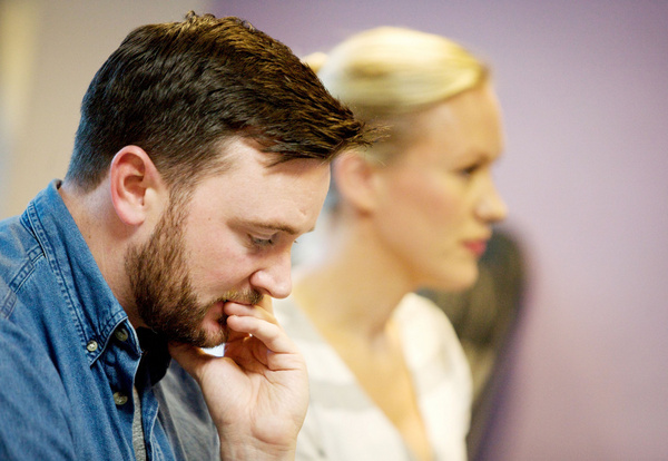 Photo Flash: Gemma Maclean And Ben Morris In Rehearsal For I DO! I DO!