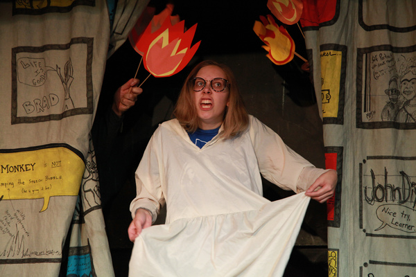 Photo Flash: First Look at THAT'S WEIRD GRANDMA: Goes Trick or Treating at the Neo-Futurist Theater