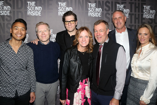 Alyssa Rapp, Anthony Rapp,  Playwright Adam Rapp, Anne Rapp and family  Photo