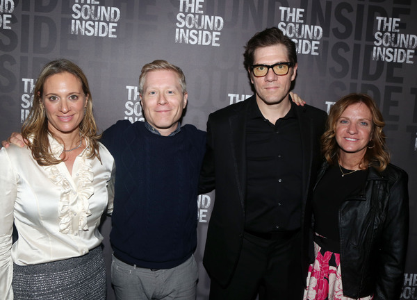 Alyssa Rapp, Anthony Rapp,  Playwright Adam Rapp and Anne Rapp  Photo