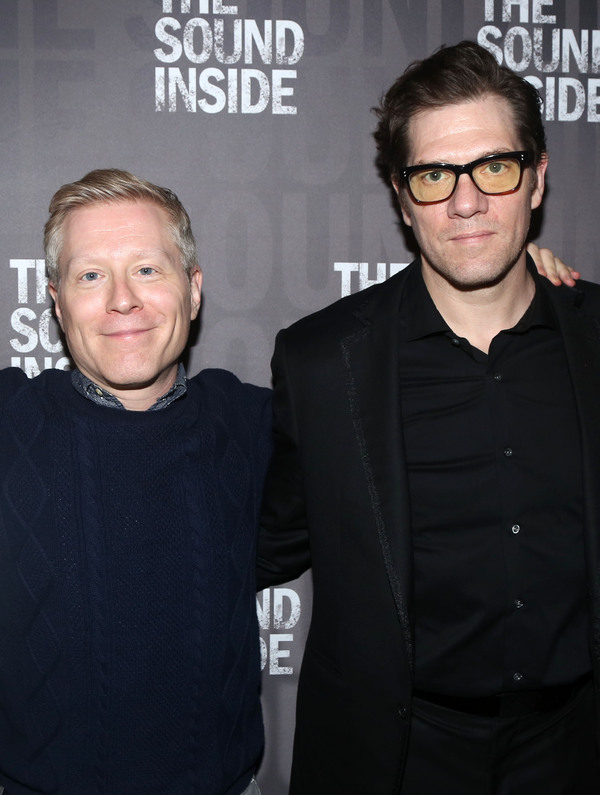 Anthony Rapp amd Playwright Adam Rapp  Photo