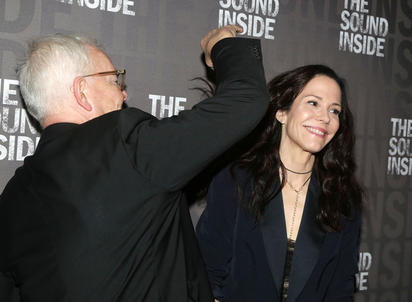 Hair stylist John Barrett and Mary-Louise Parker  Photo