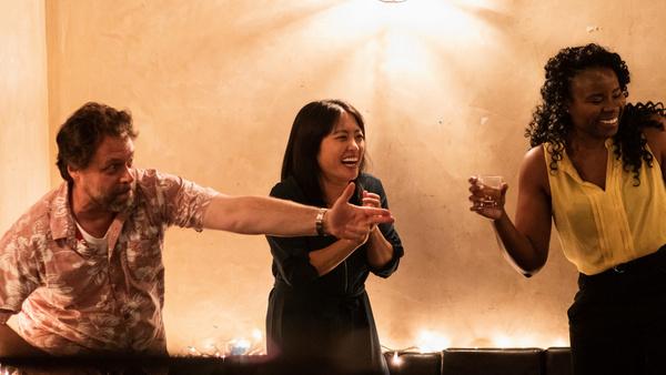 Stewart Walker, Sue Kim, and Cassandra Nwokah Photo