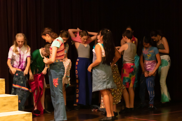 Photo Coverage: First look at New Albany Middle School Theatre Dept.'s GODSPELL JR.