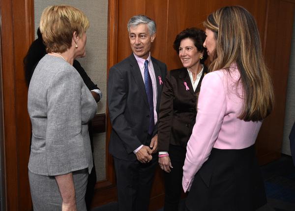 Anne Thompson, Gary Lauder, Laura Lauder, and Nina Garcia