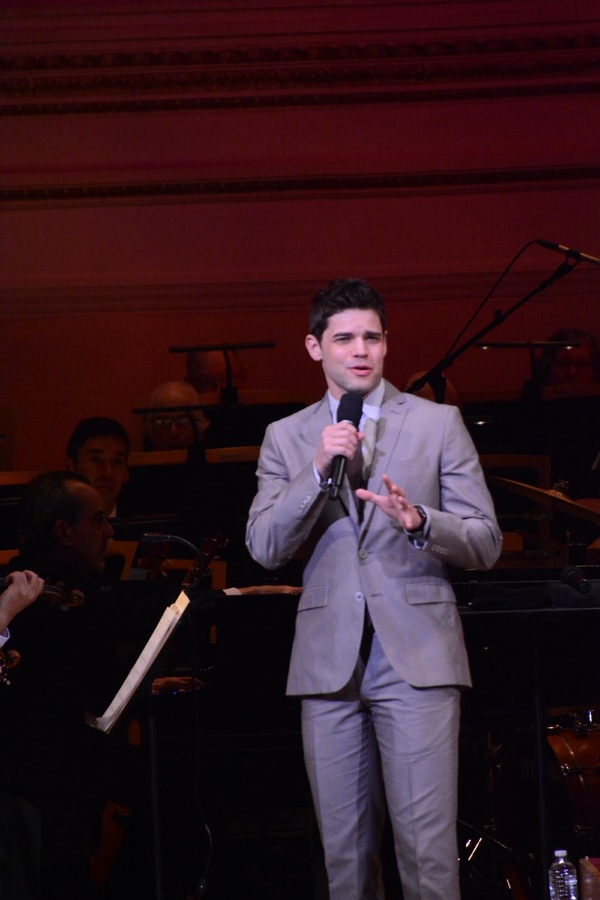 Photos: Jeremy Jordan Performs With The New York Pops