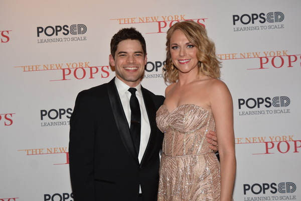 Jeremy Jordan and Ashley Spencer