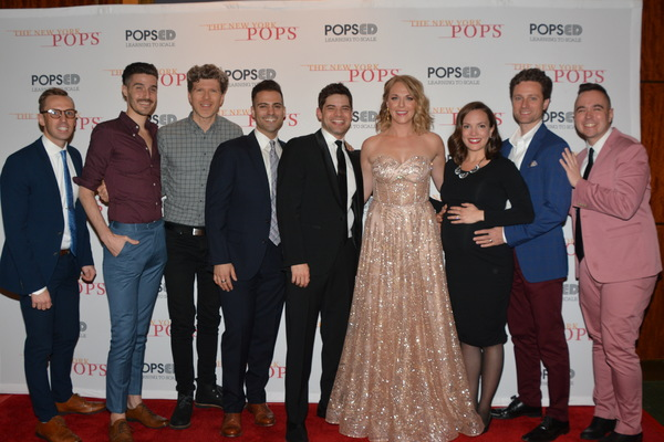 Bradford Proctor, Chris Ams, Will Reynolds, Michael Mott, Jeremy Jordan, Ashley Spencer, Kara Lindsay, Kevin Massey and Ben Rauhala