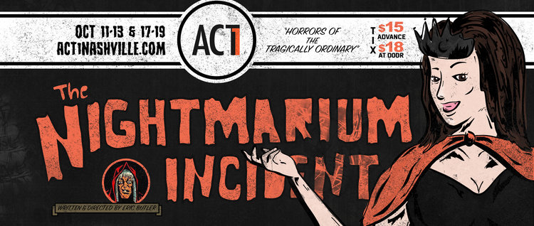 BWW Review: Some Judicious Editing Could Create a Hit With ACT 1's NIGHTMARIUM INCIDENT