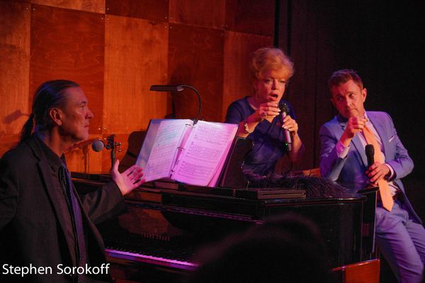Jon Weber, KT Sullivan, Jeff Harnar Photo