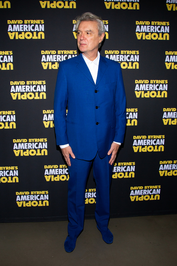 Photo Coverage: David Byrne and the Company of AMERICAN UTOPIA Celebrate Opening Night!