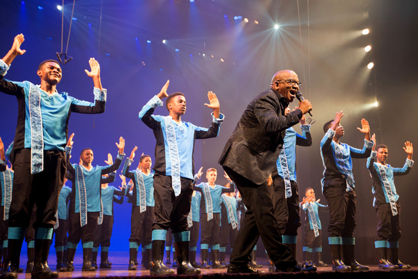 Photo Flash: Lebo M Helps THE LION KING Celebrate 20 Years in the West End