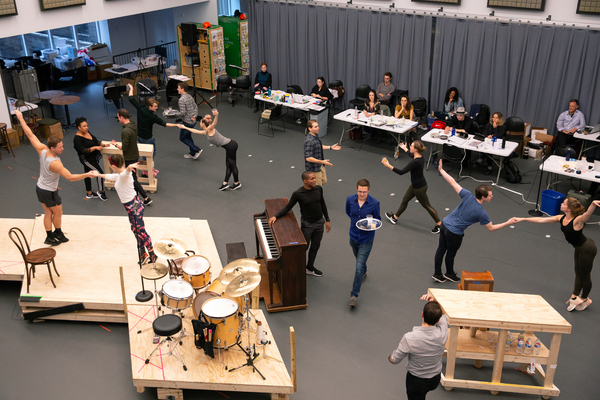 Photo Flash: In Rehearsal with the Tour Cast of BANDSTAND