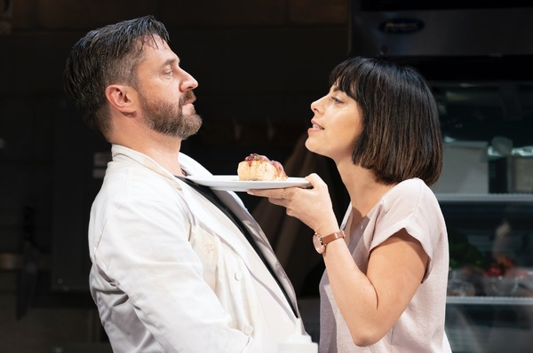 Raul Esparza and Krysta Rodriguez Photo