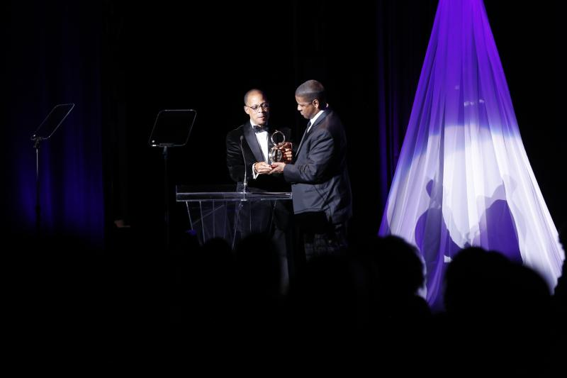 Photo Coverage: Denzel Washington honored by CROSSROADS THEATRE on 10/19 in New Brunswick