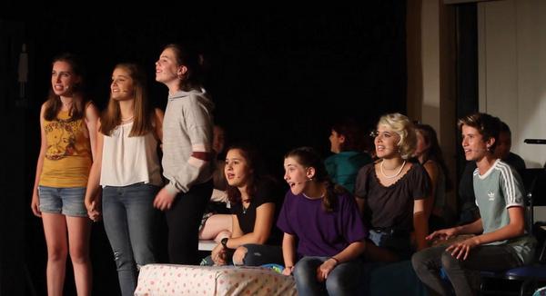 The Heavenly Seven Samantha Belding, Elizabeth Nelson, Anna Sieben, Ava Frances