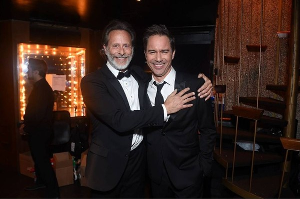 Eric McCormack and Steven Weber Photo