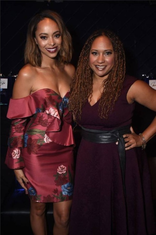 Amber Stevens and Tracie Thoms Photo